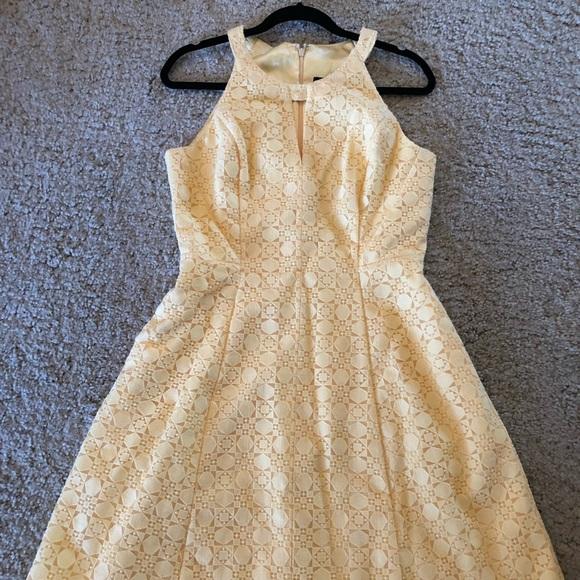 White House Black Market Dresses White House Back Market Yellow